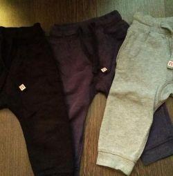 A set of 3 pants next