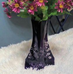 Vaza pliabilă (plastic)