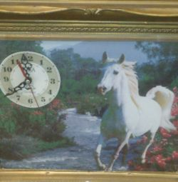 Wall clock with picture