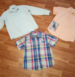 Shirts 140-146 cm