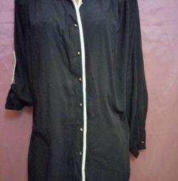 Блуза- рубашка новая, р. 62