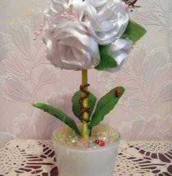 Topiary a crescut alb
