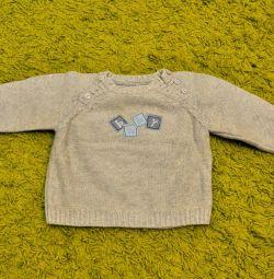 δροσερό πουλόβερ για ένα μοντέρνο μωρό
