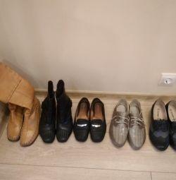 Πολλά παπούτσια 39-40r