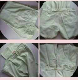 штани лляні