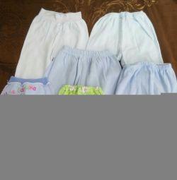 Panties and sliders