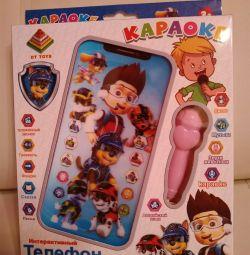 Telefon karaoke Paw Patrol