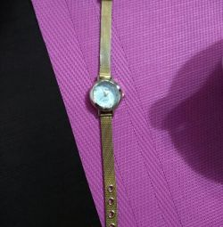 Watches are excellent. condition, metal bracelet