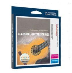 Durable voiced strings on a guitar