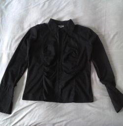 Jacket cotton black new 44 size