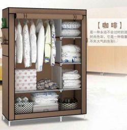 Тканевый складной шкаф