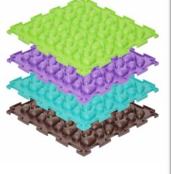 Orthopedic rug Acorns