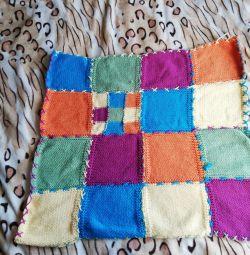 Plaid knitted children
