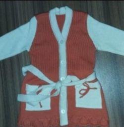 1-2 year old cardigan