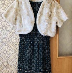 Платье и жилет (новые)