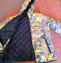 Jachetă pentru femei cu două fețe