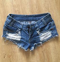 Шорты джинсы YKK