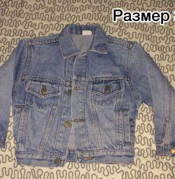 Джинсовий куртка дитяча