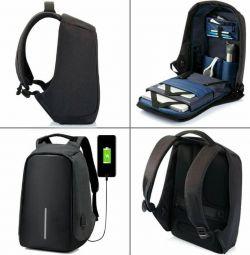 Sırt çantası anti-güç + güç bankası