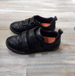 Sneakers leather 34r