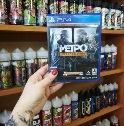 Игра PS4 Метро возвращение