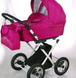 Stroller lonex carrozza crystal