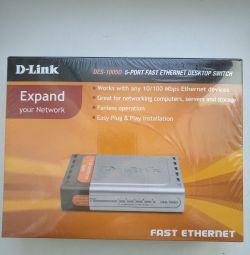 Коммутатор Dlink des 1005d