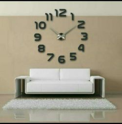 Ceas de perete 3D