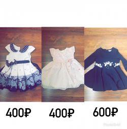 Dress for the girl elegant