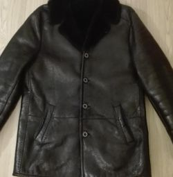 Genuine sheepskin coat Vito Ponti
