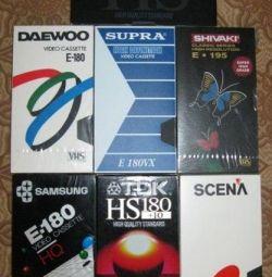 βιντεοταινίες για βιντεοκάμερες καθαρό VHS