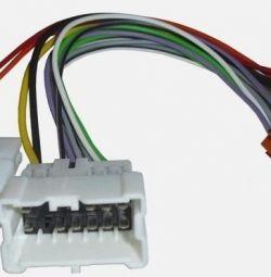 ISO роз'єми, перехідники для автомагнітол