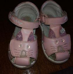 Sandals, Sneakers