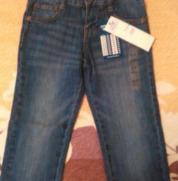 Новые джинсы р.122