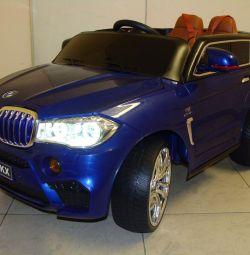 Дитячий електромобіль BMW X5М E002KX №5
