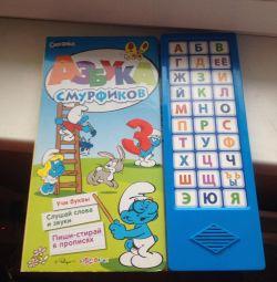 Carte muzica alfabet