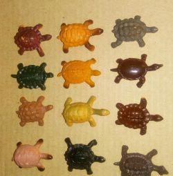 Țestoase din cauciuc 12 buc.