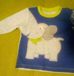 Толстовка слоник 1-2 роки