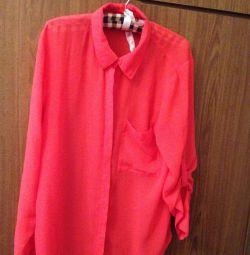 Рубашка шeлк