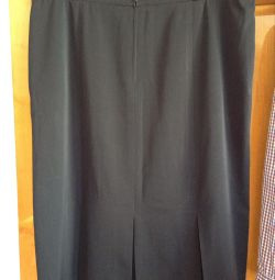 Woolen skirt 62-64 / 5XL. Germany