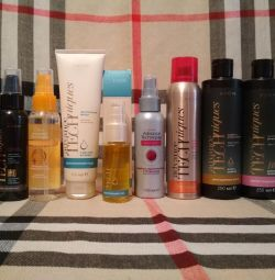 Σαμπουάν, προϊόντα για τα μαλλιά