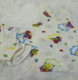 T-shirt + panties p. 68
