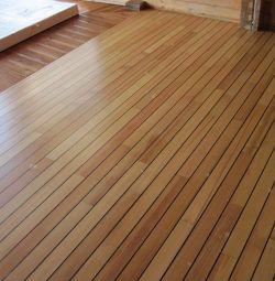 Floor board Larch 96х35