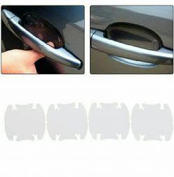 (4pcs) Postituri de protecție sub mânerul din mașină