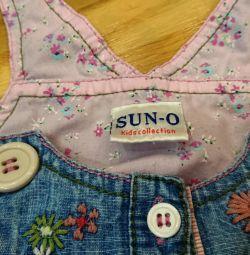 Παιδικά φόρεμα τζιν