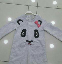 Cat Dress, Panda