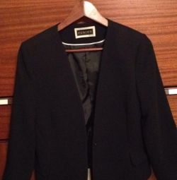 Jacket, p. 46/48, new, black, for office