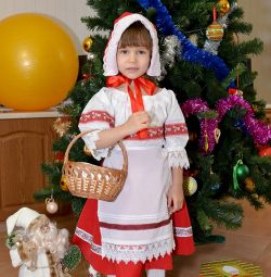 Christmas costume Little Red Riding Hood for rent