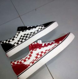 Vans in box size 40 to 45