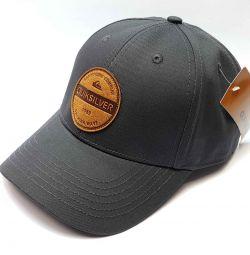 Καπέλο μπέιζμπολ Quiksilver (γκρι)